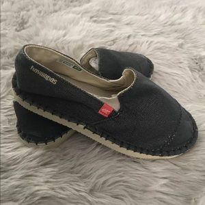 New Havaianas Youth Flatform Up Flop Soul Shoes
